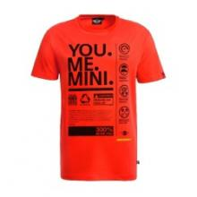 Camiseta de Hombre MINI YOU.ME.MINI. Naranja