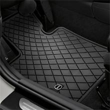 Alfombrillas Delanteras - Goma - Essential Black - MINI Clubman F54