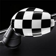 Carcasa de espejo exterior - Checkered - MINI F54 F55/F56 F57 F60