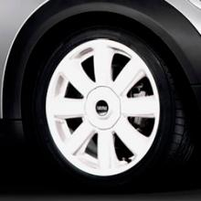 Llanta MINI R104 Crown Spoke White 17""